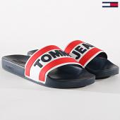 /achat-claquettes-sandales/tommy-hilfiger-jeans-claquettes-core-em0em00219-bleu-marine-171970.html