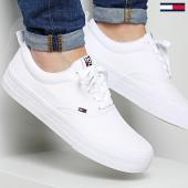 /achat-baskets-basses/tommy-hilfiger-jeans-baskets-classic-em0em00259-100-white-171981.html