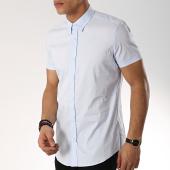 /achat-chemises-manches-courtes/antony-morato-chemise-manches-courtes-basic-bleu-clair-172044.html