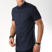 /achat-chemises-manches-courtes/antony-morato-chemise-manches-courtes-basic-bleu-marine-172046.html