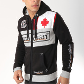 /achat-sweats-zippes-capuche/canadian-peak-sweat-zippe-capuche-face-noir-gris-chine-172178.html