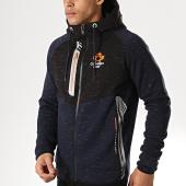 /achat-sweats-zippes-capuche/canadian-peak-sweat-zippe-capuche-gadigan-bleu-marine-noir-172183.html