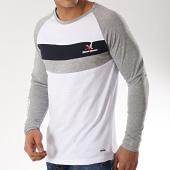 /achat-t-shirts-manches-longues/classic-series-tee-shirt-manches-longues-joronet-blanc-gris-chine-bleu-marine-172090.html