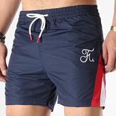 /achat-maillots-de-bain/final-club-short-de-bain-premium-fit-tricolore-avec-broderie-154-bleu-marine-blanc-rouge-172073.html