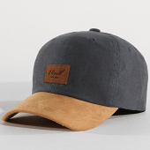 /achat-casquettes-de-baseball/reell-jeans-casquette-curved-suede-gris-anthracite-camel-172006.html