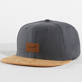 /achat-snapbacks/reell-jeans-casquette-snapback-suede-gris-anthracite-camel-172014.html