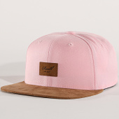 /achat-snapbacks/reell-jeans-casquette-snapback-suede-rose-marron-172026.html