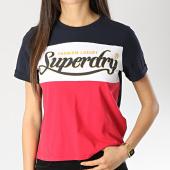 /achat-t-shirts/superdry-tee-shirt-premium-color-block-g10133tt-bleu-marine-rouge-172022.html