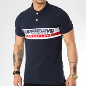 /achat-polos-manches-courtes/superdry-polo-manches-courtes-international-chest-m11011rt-bleu-marine-172038.html