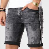 /achat-shorts-jean/terance-kole-short-jean-avec-bandes-77006-noir-172036.html