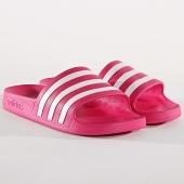 /achat-claquettes-sandales/adidas-claquettes-femme-adilette-aqua-f35536-rose-blanc-172386.html