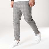 /achat-pantalons-carreaux/blend-pantalon-carreaux-avec-bandes-20708079-noir-gris-172254.html