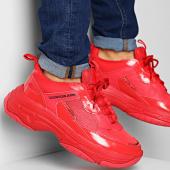 /achat-baskets-basses/calvin-klein-baskets-marvin-nylon-metal-calf-nappa-s0591-tomato-172373.html