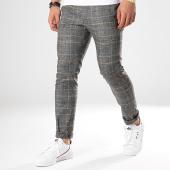 /achat-pantalons-carreaux/classic-series-pantalon-carreaux-p191014-gris-anthracite-chine-beige-172382.html
