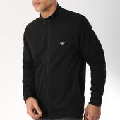 /achat-vestes/emporio-armani-veste-zippee-111532-9p571-noir-blanc-172394.html