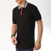 /achat-polos-manches-courtes/ikao-polo-manches-courtes-oversize-f471-noir-172259.html