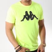 /achat-t-shirts/kappa-tee-shirt-gleno-304n3c0-jaune-fluo-172338.html