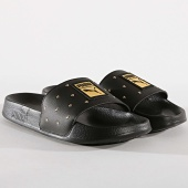 /achat-claquettes-sandales/puma-claquettes-femme-leadcat-studs-369405-black-gold-172407.html