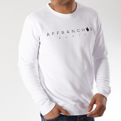 /achat-sweats-col-rond-crewneck/sofiane-sweat-affranchis-music-blanc-172244.html