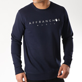 /achat-sweats-col-rond-crewneck/sofiane-sweat-affranchis-music-bleu-marine-172250.html