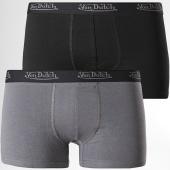 /achat-boxers/von-dutch-lot-de-2-boxers-bcx2-gris-anthracite-noir-172396.html