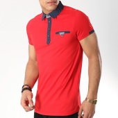 /achat-polos-manches-courtes/classic-series-polo-manches-courtes-531-rouge-172425.html