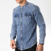 /achat-chemises-manches-longues/classic-series-chemise-manches-longues-col-mao-5134-bleu-denim-172441.html