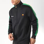 /achat-vestes/ellesse-veste-zippee-avec-bandes-jet-sha06416-noir-vert-172531.html