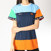 /achat-t-shirts/ellesse-tee-shirt-femme-avium-sga06295-bleu-marine-bleu-clair-orange-172546.html