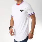 /achat-t-shirts-longs-oversize/gianni-kavanagh-tee-shirt-oversize-personalized-rib-blanc-bleu-roi-rouge-172501.html