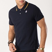 /achat-polos-manches-courtes/k-way-polo-manches-courtes-jude-stripes-bleu-marine-172605.html