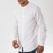 /achat-chemises-manches-longues/mtx-chemise-manches-longues-col-mao-xs1301-blanc-beige-172505.html