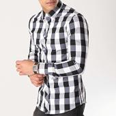 /achat-chemises-manches-longues/mtx-chemise-manches-longues-2096-carreaux-noir-blanc-172557.html