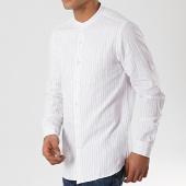 /achat-chemises-manches-longues/mtx-chemise-manches-longues-col-mao-xs134-blanc-bleu-clair-172568.html