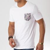 /achat-t-shirts-poche/mtx-tee-shirt-poche-f1033-blanc-floral-172608.html