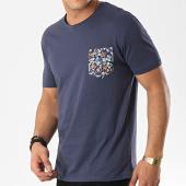 /achat-t-shirts-poche/mtx-tee-shirt-poche-f1033-bleu-marine-floral-172609.html