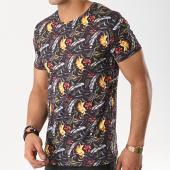 /achat-t-shirts/mtx-tee-shirt-tm0045-noir-floral-172622.html