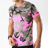 /achat-t-shirts/mtx-tee-shirt-tm0041-vert-kaki-camouflage-rose-fluo-172637.html