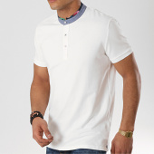 /achat-polos-manches-courtes/mtx-polo-manches-courtes-f1052-blanc-floral-172645.html