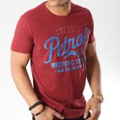 /achat-t-shirts/petrol-industries-tee-shirt-602-bordeaux-172460.html