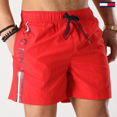 /achat-maillots-de-bain/tommy-hilfiger-short-de-bain-medium-drawstring-1416-rouge-172442.html