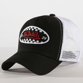 /achat-trucker/von-dutch-casquette-trucker-finish-noir-blanc-172553.html