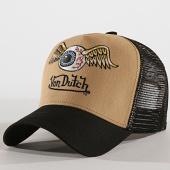 /achat-trucker/von-dutch-casquette-trucker-art-noir-beige-172558.html