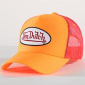 /achat-trucker/von-dutch-casquette-trucker-fresh-orange-fluo-172573.html
