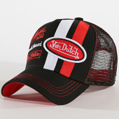 /achat-trucker/von-dutch-casquette-trucker-mcqueen-noir-rouge-172583.html