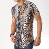 /achat-t-shirts-longs-oversize/john-h-tee-shirt-oversize-1972-camel-noir-blanc-leopard-172780.html