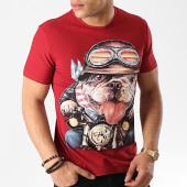 /achat-t-shirts/john-h-tee-shirt-1907-rouge-brique-172782.html