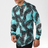 /achat-chemises-manches-longues/mtx-chemise-manches-longues-tm0029-vert-noir-floral-172654.html