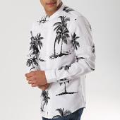 /achat-chemises-manches-longues/mtx-chemise-manches-longues-xs1403-blanc-noir-floral-172658.html