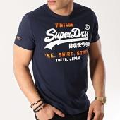 /achat-t-shirts/superdry-tee-shirt-shirt-shop-m10105ct-bleu-marine-172724.html